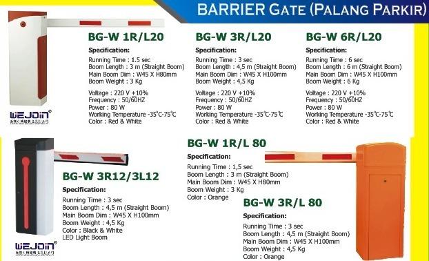 Distributor Palang Parkir (Barrier Gates), RFID & Software Parkir Murah – 081216501603 (WA)